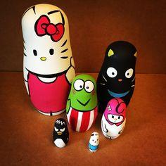 Hello Kitty! Nesting Dolls Set