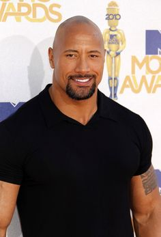 Dwayne Johnson. I love him!!!!!