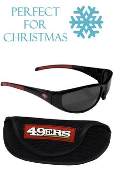 8d40f48b4e2b This great set includes a high quality pair of San Francisco 49ers wrap  sunglasses and sport