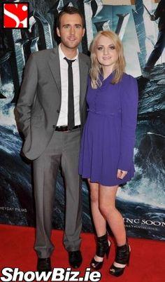 Neville & Luna (matthew lewis & evanna  lynch)