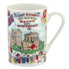 The Queen's 90th Birthday Mug