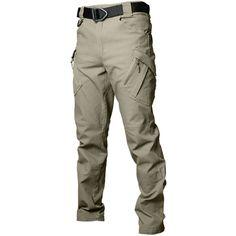 Men's Cargo Pants Tactical Trail Ripstop Combat Work Trousers