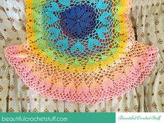 Lovebeat Crochet Top Tutorial crochet circle top
