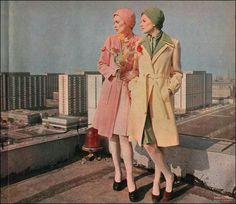 Marchlewskiego 20, 1973 Warsaw, Mj, Old Photos, Illusions, Polish, History, Coat, Places, Vintage