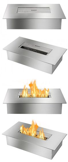 Fireplace Hearths 175824: Ignis Products Eb1400 - Ethanol Fireplace Burner Insert -> BUY IT NOW ONLY: $117.99 on eBay!