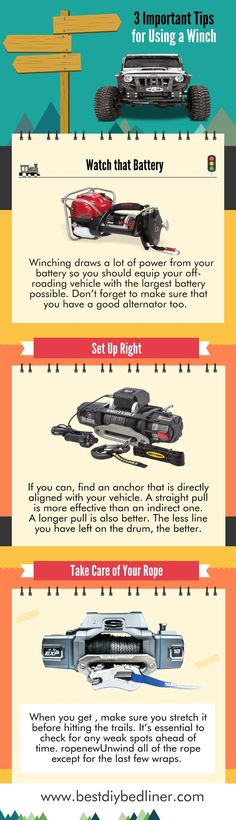 Guidelines to Check Before Using #JeepWinch  If you are the first-time user of a winch in your #jeep, then this post is beneficial for you guys. Because Here I have given important guidelines to check before using jeep winch. So, simply follow it and use jeep #winch without any problem.