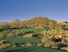 Troon North Golf Club is located in Scottsdale, Arizona and is the flagship course for Troon Golf Management. There are two courses here, the Pinnacle and the Monument, and offers some of the best views of the valley. Don't miss the fairway... they have rattlesnakes!