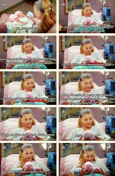 Phoebe and the triplets <3
