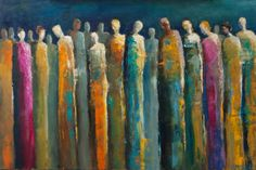 elongated figures in art - Google Search