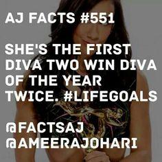 AJ Lee Fact