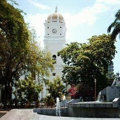 Catedral de Maracay, Plaza Girardot, Maracay, Edo. Aragua.  Venezuela.