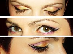Double Winged Eyeliner Look