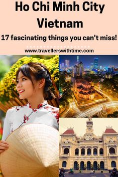 A complete guide to the awesome things to do in Ho Chi Minh City. Don't miss these attractions food markets and architectural wonders! Vietnam Travel Guide, Asia Travel, Food Travel, Wanderlust Travel, Visit Vietnam, Hanoi Vietnam, Best Places To Travel, Cool Places To Visit, Travel Things