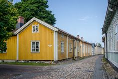 A Magical Journey Through Rauma, Finland (Adventurous Kate) Wooden Architecture, Arctic Circle, European Countries, Travel Europe, Old Houses, Finland, Scandinavian, The Neighbourhood, Places To Visit