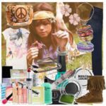 Collage of hippie stuff