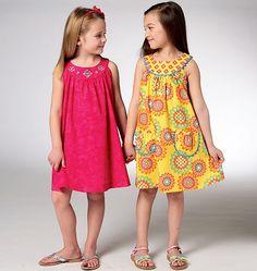 K3940 Girls' Dress