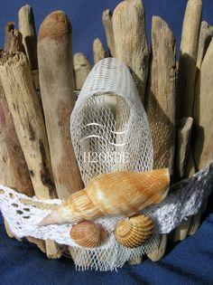porta bracciali legno shabby chic bianco espositore collane forma ... - Arredamento Shabby Marino