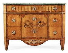 A Gustavian 18th Century commode by G. Foltiern.