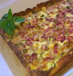 Sirpan sipulipiirakka (8-10 palaa), valmistusaika yli 60 min. Hawaiian Pizza, Margarita, Quiche, Breakfast, Recipes, Waiting, Food, Salta, Recipies