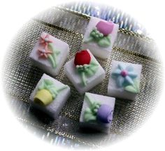 Decorated Sugar Cubes - Home