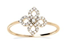 Our blossom diamond ring Sidas is the perfect jewellery for spring! #Yorxs #Diamantring