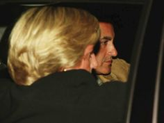 Diana, left, with Dodi Al Fayed in the back of a car, on the night that both of them died in a car crash in Paris on Aug. 31, 1997.