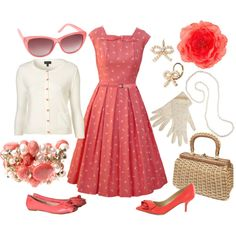 A fashion look from August 2011 featuring vintage dresses, stitch top and pink flats. Browse and shop related looks. Pretty Outfits, Pretty Dresses, Beautiful Outfits, Long Dresses, Maxi Dresses, Vintage Dresses, Vintage Outfits, Vintage Fashion, Jw Mode