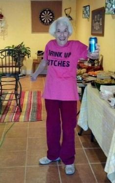 29 Old People in Awesome Bad Ass T-Shirts - Team Jimmy Joe