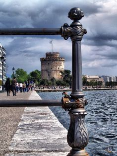 The symbol of the city of Thessaloniki, in the Greek region of Macedonia. Wonderful Places, Beautiful Places, Places To Travel, Places To Visit, Greek Beauty, The Beautiful Country, Athens Greece, Macedonia, Greece Travel