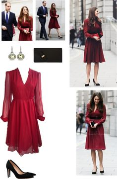 """Kate Middleton"" by pihhla on Polyvore"