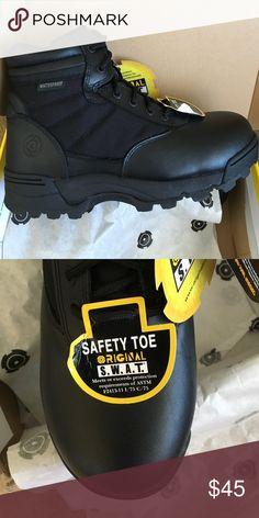 Steel toe boots Men's boots in excellent condition. original swat Shoes Combat & Moto Boots