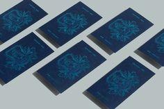 Blue Block Foil – Earls.67 by Glasfurd & Walker, Canada