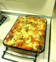 Tonight for Supper: March 11-Weeknight Pasta Bake & Lazy Girl Breadsticks