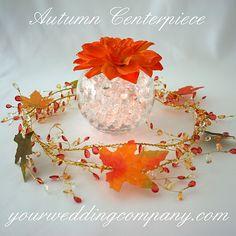 Fall Wedding Centerpiece, Fall Centerpiece, Autumn Centerpiece, Nonfloral Centerpiece