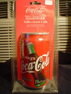 COCA COLA BATTERY OPERATED PENCIL SHARPENER Coca-Cola