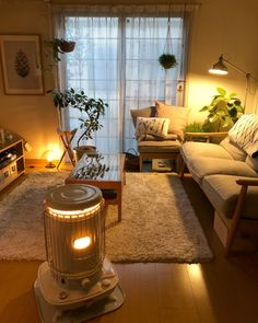 Small Room Interior, Small Apartment Interior, Dream House Interior, Dream Home Design, Home Interior Design, House Design, Cozy Living Rooms, Living Room Decor, Asian House