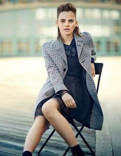 Emma Watson – Teen Vogue Magazine – August 2013  transition to dance pose  convert to dance pose