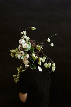 Overgrowth is an ongoing artistic collaboration between photographer Parker Fitzgerald and floral designer Riley Messina. The anonymous portraits exudes such pure and natural beauty.