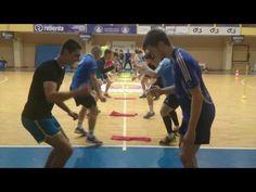 """""""Dragūno"""" reakcijos treniruotė / Handball training - YouTube"""