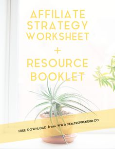 Grow Your Business With a Killer Affiliate Strategy (plus a FREE download workbook + scripts for you)
