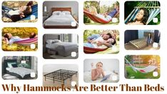 Why Are Hammocks Better Than Beds? Portable Hammock, Hammocks, Beds, Toddler Bed, Wellness, Design, Home Decor, Child Bed, Decoration Home