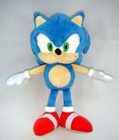 "Sanei Sonic The Hedgehog 9"" Sonic Plush Sanei http://www.amazon.com/dp/B008CVHKIY/ref=cm_sw_r_pi_dp_ZFpcub1X62M8R"