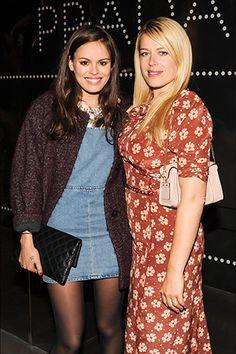 Atlanta de Cadenet Taylor and Amanda de Cadenet could pass as sisters.