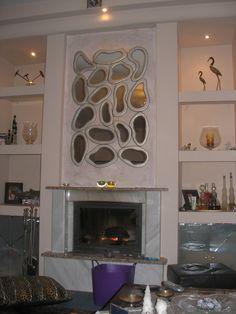 Χειροποίητη δημιουργία μου σε ξύλο-υπάρχει δυνατότητα διαφοροποιήσεων. Wood Mirror, Mirrors, Handmade, Home Decor, Hand Made, Decoration Home, Room Decor, Home Interior Design, Mirror