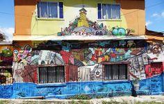 Estós son los murales del Polanco Graffestival 2012 en Valparaíso, Chile | Arte Callejero