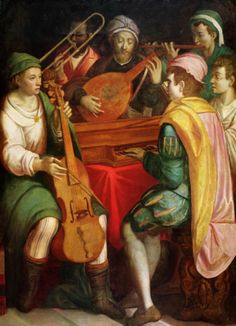 Frandia's royal musicians would be a bit more numerous, but they would play instruments like these.