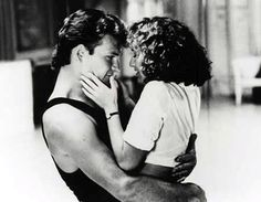 "Patrick Swayze and Jennifer Grey in ""Dirty Dancing"" 1987 by Emile Ardolino"