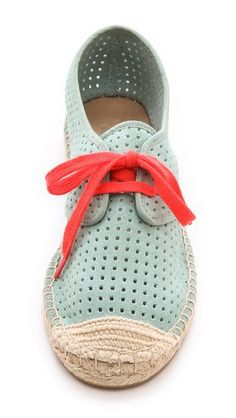 DKNY IVANA LACE UP ESPADRILLE