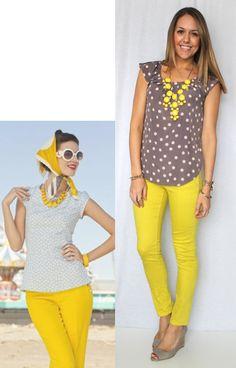 J's Everyday Fashion: Today's Everyday Fashion: Sunshine