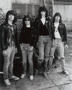 The Ramones.Joey ramone, Tommy ramone, Dee dee ramone, Johnny ramone, punk rock n roll Ramones, Joey Ramone, Music Icon, Pop Music, Rock N Roll, Rock Rock, Beatles, Punk Goth, Post Punk